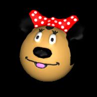 3d model - Minnie mouse