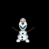 3d model - Olaf nyomtatható