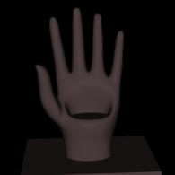3d model - Mobile Hand_V01