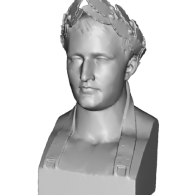 3d model - Napoleon Bust