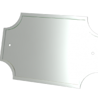 3d model - address plaque 2