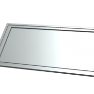 3d model - address plaque 3