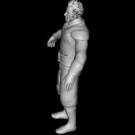 3d model - Ra\'s al Ghul