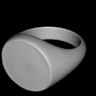 3d model - Peace seal