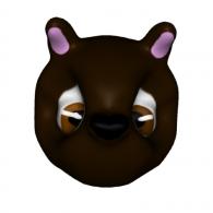 3d model - SkyLand Bear