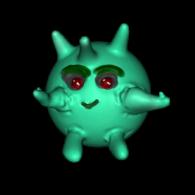 3d model - Little Boo