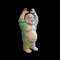 3d model - Buddha