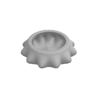 3d model - Spiny Bowl