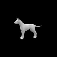 3d model - Dog