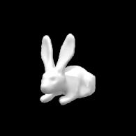 3d model - rabbit_test_gorund