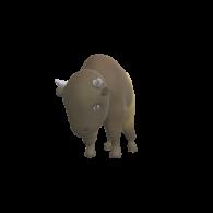 3d model - Bison