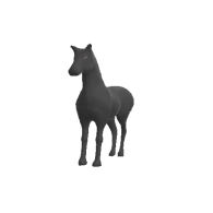 3d model - BlackHorse