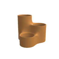 3d model - Rounded