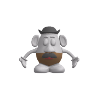 3d model - Mr Potatohead