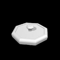 3d model - box top