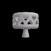 3d model - knob hearts