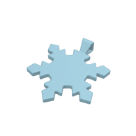 3d model - Snowflake