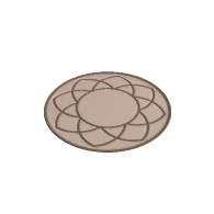 3d model - flower