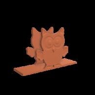 3d model - Twin Owls