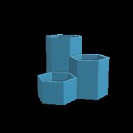 3d model - Hexagon