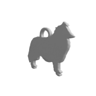 3d model - Rough Collie