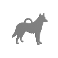 3d model - German Shepherd