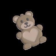 3d model - teddy