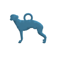 3d model - Greyhound