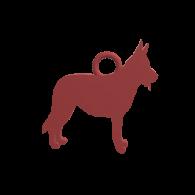 3d model - German Shepherd