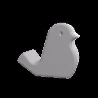3d model - bird phone stand