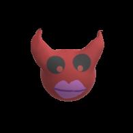 3d model - Devil Vase