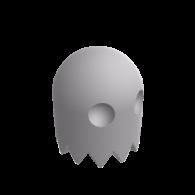 3d model - Pac Man Ghost
