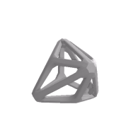 3d model - Triakis Tetrahedron