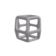 3d model - Rhombic Dodecahedron.stl