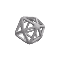 3d model - Tetrakis Hexahedron