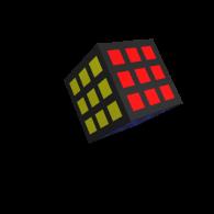 3d model - Rubiks cube