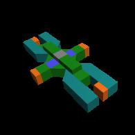 3d model - XY block