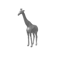 3d model - Giraffe