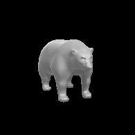 3d model - Bear