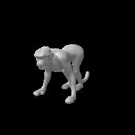 3d model - Monkey