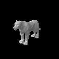 3d model - Lion
