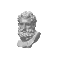 3d model - Bust of Hercules