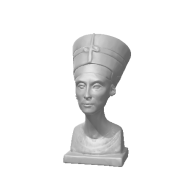 3d model - Bust of Nefertiti