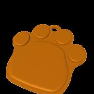3d model - Paw Pendant