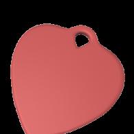 3d model - Heart Pendant