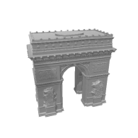 3d model - Arc de Triomphe