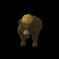 3d model - Bear&Hair