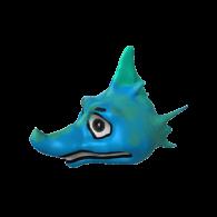 3d model - Seahorse Head