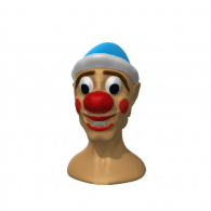 3d model - clown