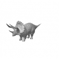 3d model - Triceratops